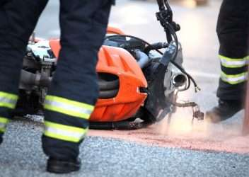 carreteras accidentes de moto
