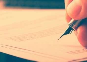 escribir un testamento