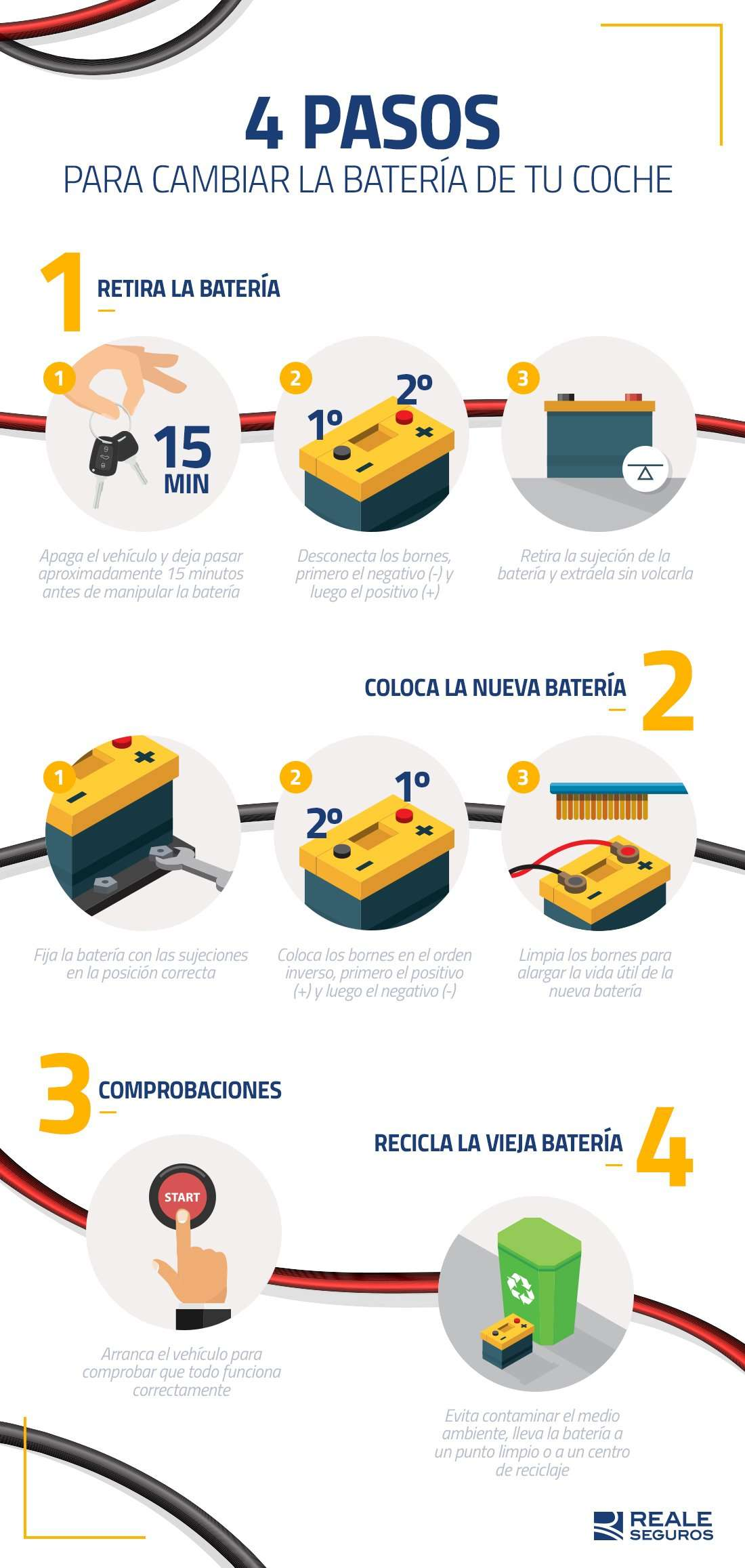 cambiar batería del coche