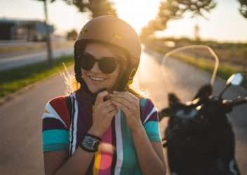Caducidad del casco de moto