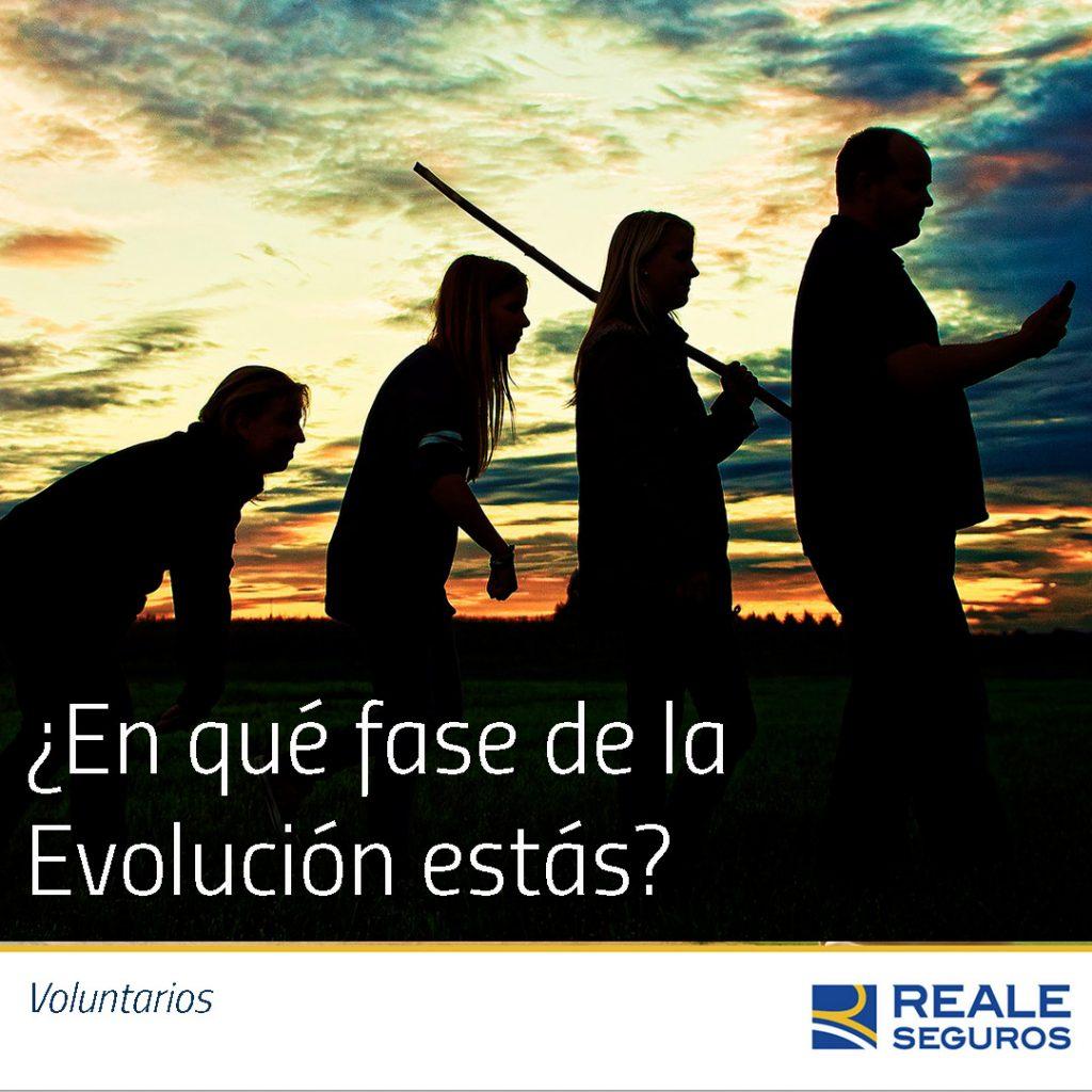 Quién quiere evolucionar