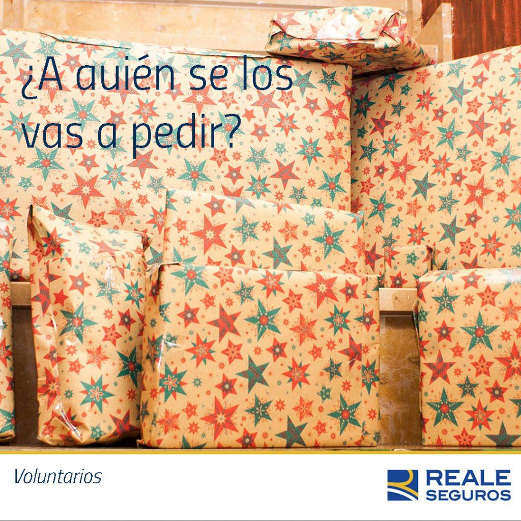 Reyes Magos vs Papá Noel - Voluntarios Reale
