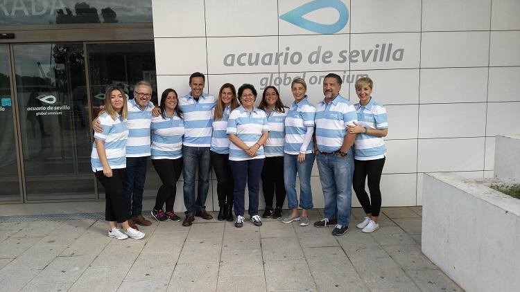 Voluntarios Reale en Sevilla